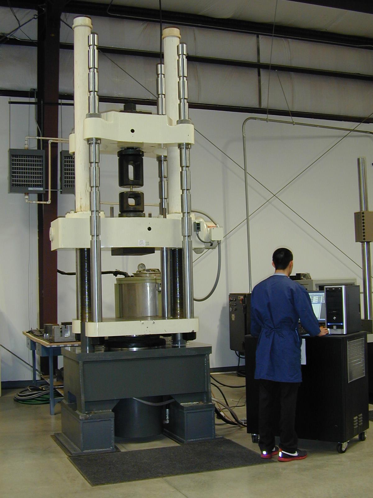 tinius tensile testing machine